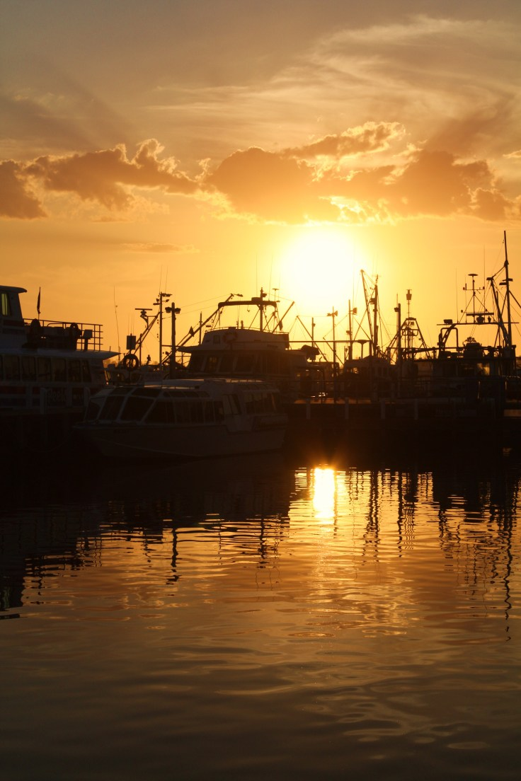 Sunset - Fishing Boats