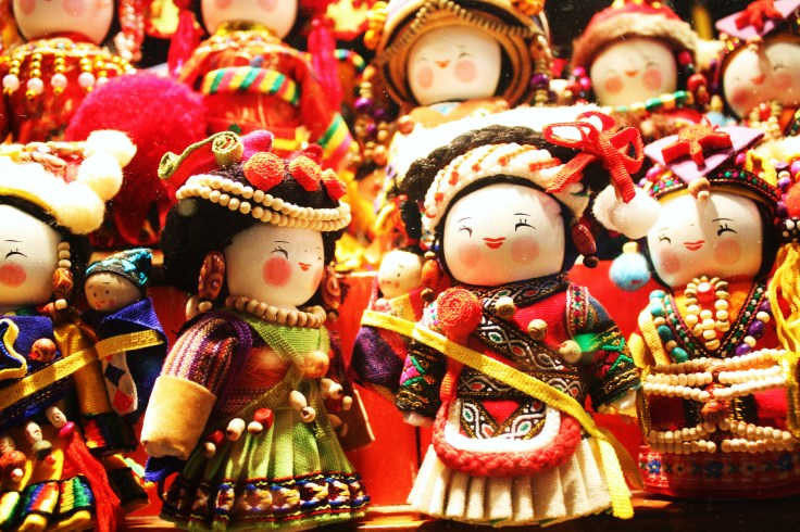 Chinese Dolls Souvenirs