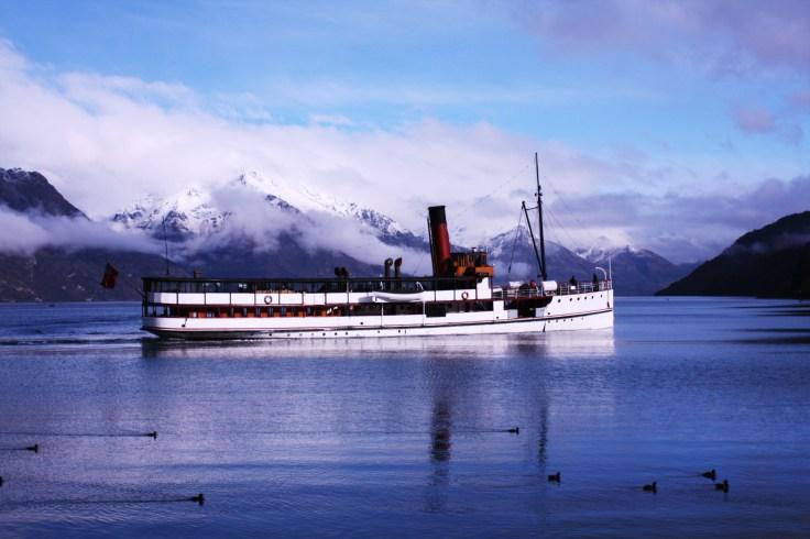 Queenstown Lake, New Zealand