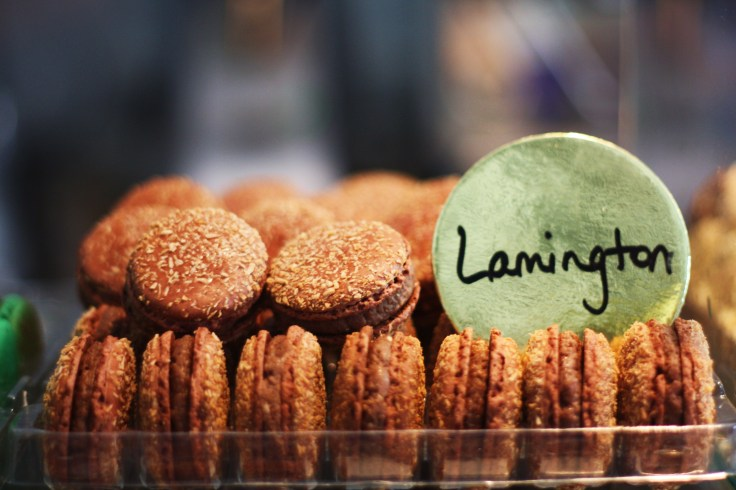 Lamington Macarons